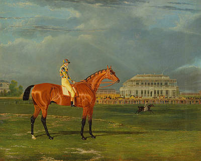 Painting - Memnon, With William Scott Up by Treasury Classics Art
