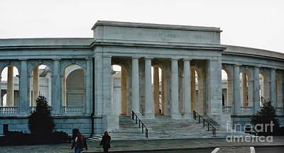 Photograph - Memorial Amphitheater by D Hackett