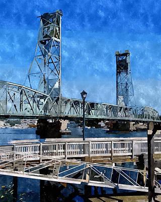 Memorial Bridge Mbwc Art Print
