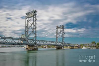 Photograph - Memorial Bridge Over The Piscataqua River by Jerry Fornarotto