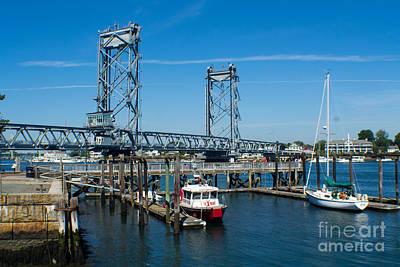 Memorial Bridge Portsmouth Art Print