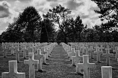 Photograph - Memorial Cemetery - World War II by Nikolyn McDonald