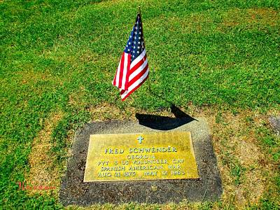 Photograph - Memorial Day 2017-13 - Spanish American War by Sadie Reneau