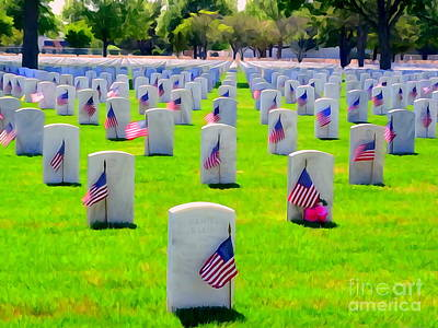 Photograph - Memorial Day #5 by Ed Weidman