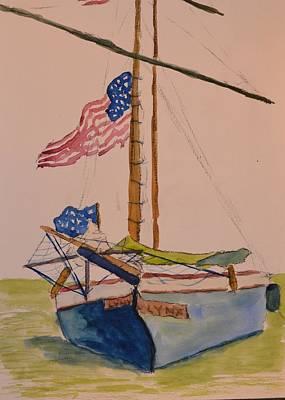 Memorial Day, Annapolis Art Print