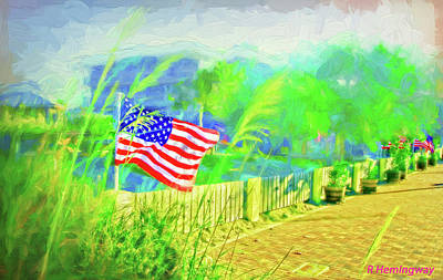 South Hutchinson Island Photograph - Memorial Day by Richard Hemingway