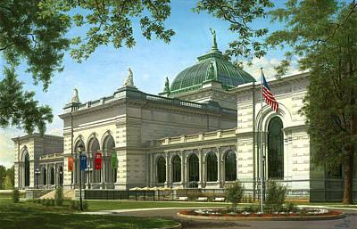 Memorial Hall - Philadelphia Original by Ed Ryder