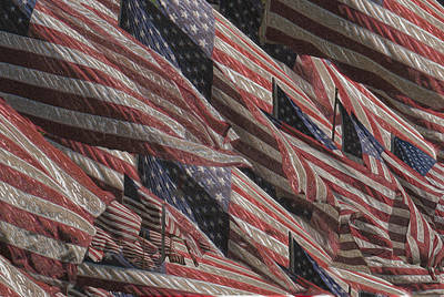 Star Spangled Banner Painting - Memorial by Jack Zulli