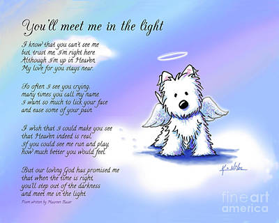 Memorial Print Custom Size Art Print by Kim Niles