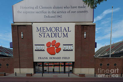 Photograph - Memorial Stadium by Dale Powell