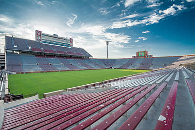 Photograph - Memorial Stadium by Nathan Hillis