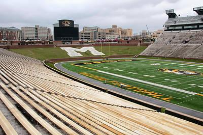 Photograph - Memorial Stadium by Steve Stuller