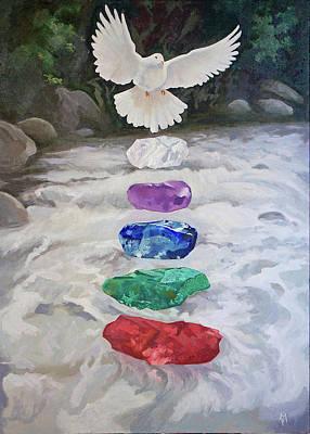 Painting - Memorial by Susan McNally