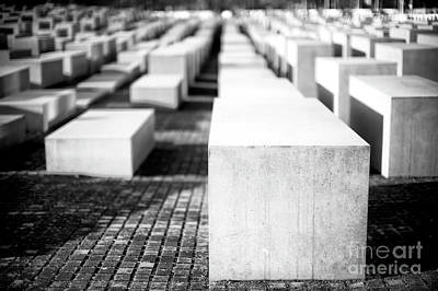 Photograph - Memorial To The Murdered Jews Of Europe by John Rizzuto
