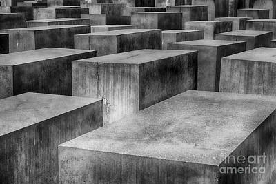 Photograph - Memorial To The Murdered Jews Of Europe by Teresa Zieba