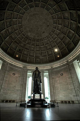 Jefferson Memorial Photograph - Memorial To Thomas Jefferson by Andrew Soundarajan