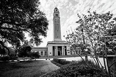Photograph - Memorial Tower - Lsu by Scott Pellegrin
