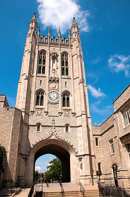 Photograph - Memorial Union Mizzou by Steve Stuller