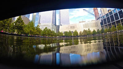Photograph - Memorial View by Steven Lapkin