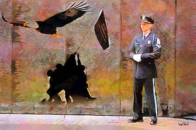 Painting - Memorial by Wayne Pascall
