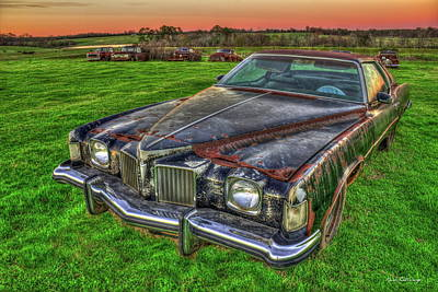 Photograph - Memories 1971 Pontiac Grand Prix Art by Reid Callaway