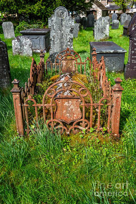 Grave Photograph - Memories by Adrian Evans