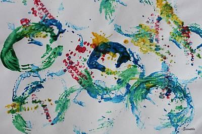 Milestone Painting - Memories And Milestones by Scientila Duddempudi