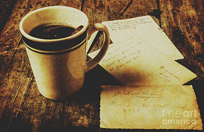 Tea Cup Wall Art - Photograph - Memories And Past Notes by Jorgo Photography - Wall Art Gallery