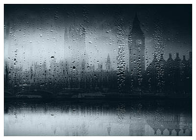 Art Print featuring the digital art Mystical London by Fine Art By Andrew David