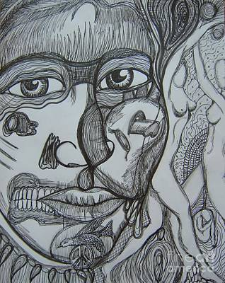 Anitawexler.com Drawing - Memories by Anita Wexler