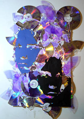 Disc Mixed Media - Memories by Bear Welch