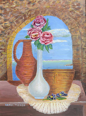 Painting - Memories From Italy by Carol L Miller