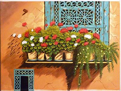 Mohammad Painting - Memories by Hanieh Mohammad Bagher
