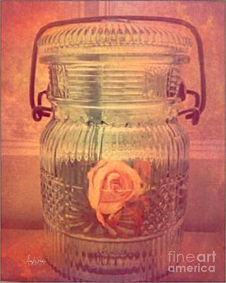 Photograph -  Memories In A Jar by MaryLee Parker