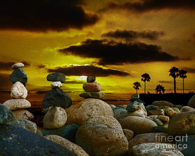 Digital Art - Memories In The Twilight by Rhonda Strickland