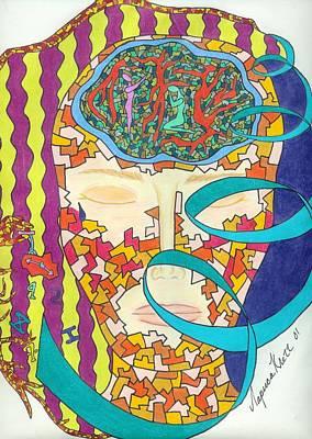Clock Face Mixed Media - Memories by Larisa Colantonio