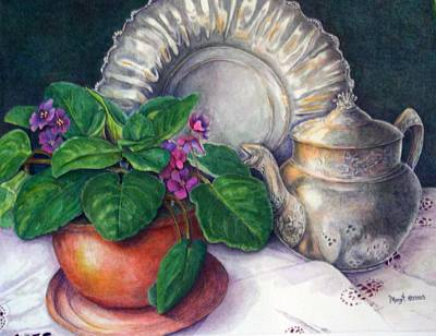 Painting - Memories by Margit Sampogna
