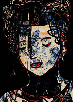 Outsider Art Mixed Media - Memories by Natalie Holland