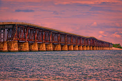 Photograph - Memories Of A Bridge by John M Bailey