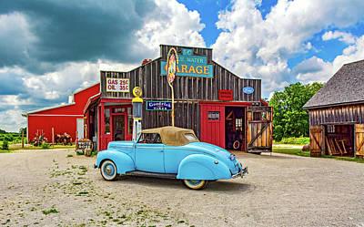 Car Repairs Photograph - Memories Of A Simpler Time by Steve Harrington