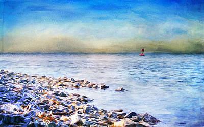 Christina Digital Art - Memories Of Fayette Bay  by Christina VanGinkel
