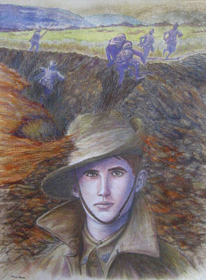 Memories Of Gallipoli Original by Diane Quee