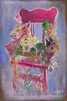 Photograph - Memories Of Grandmother's Garden by Nina Silver