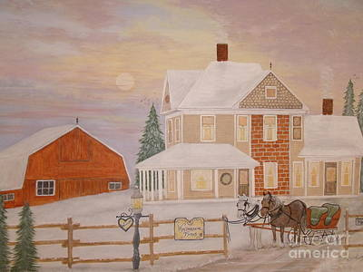 Painting - Memories Of Home by Patti Lennox