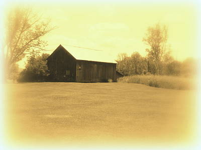 Memories Of Long Ago - Barn Art Print