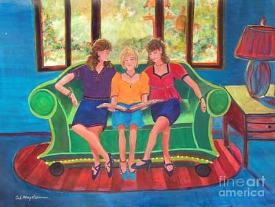 Memories Of Mom Art Print