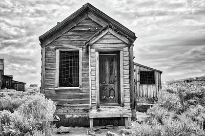 Photograph - Memories Of Old In Black And White by Lynn Bauer