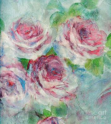 Painting - Memories Of Roses by Writermore Arts