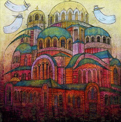 Wall Art - Painting - Memories Of Sofia by Albena Vatcheva