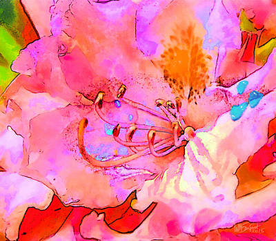 Digital Art - Memories Of Spring by William Sargent